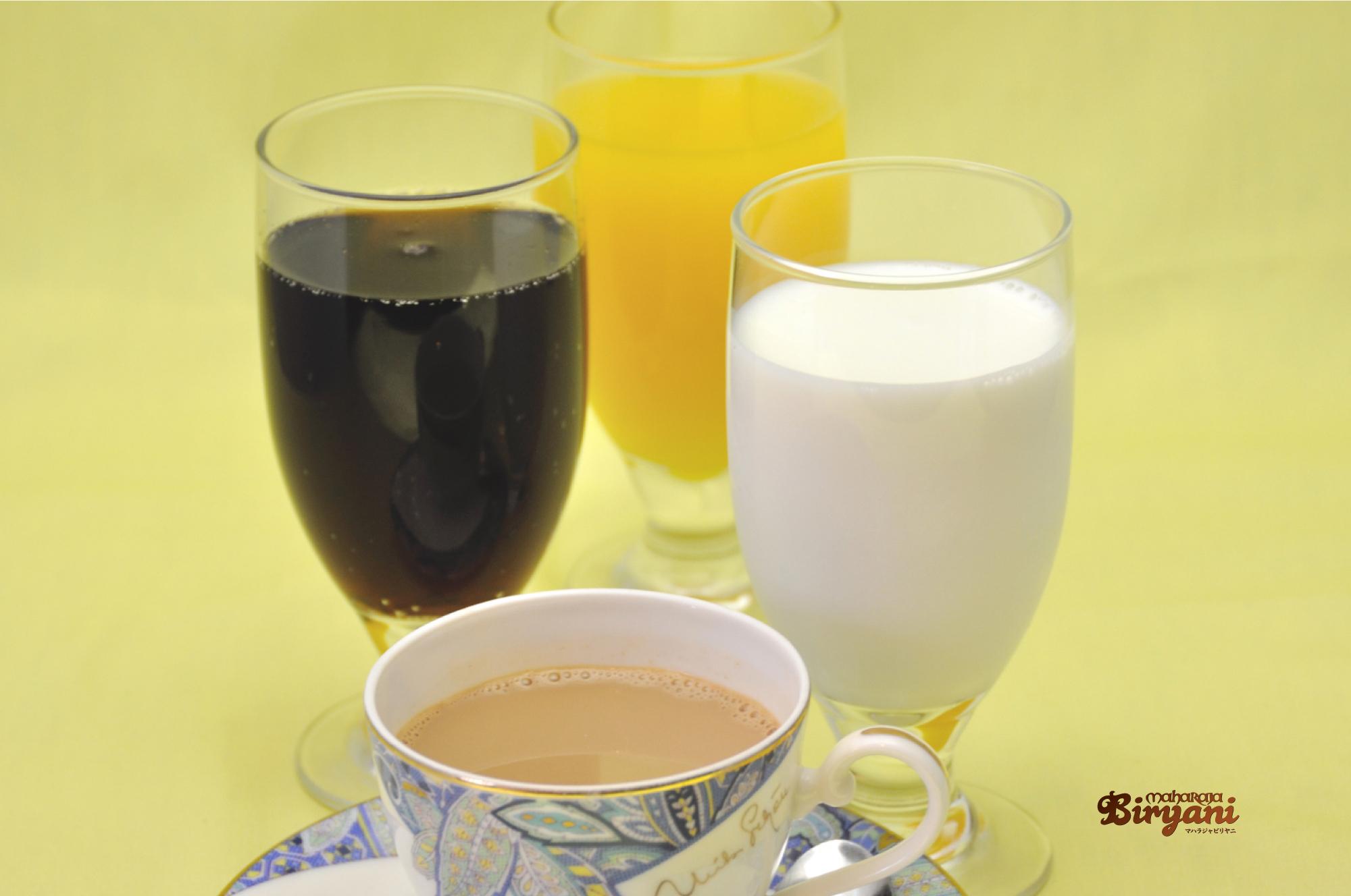 コーラ オレンジジュース コーヒー