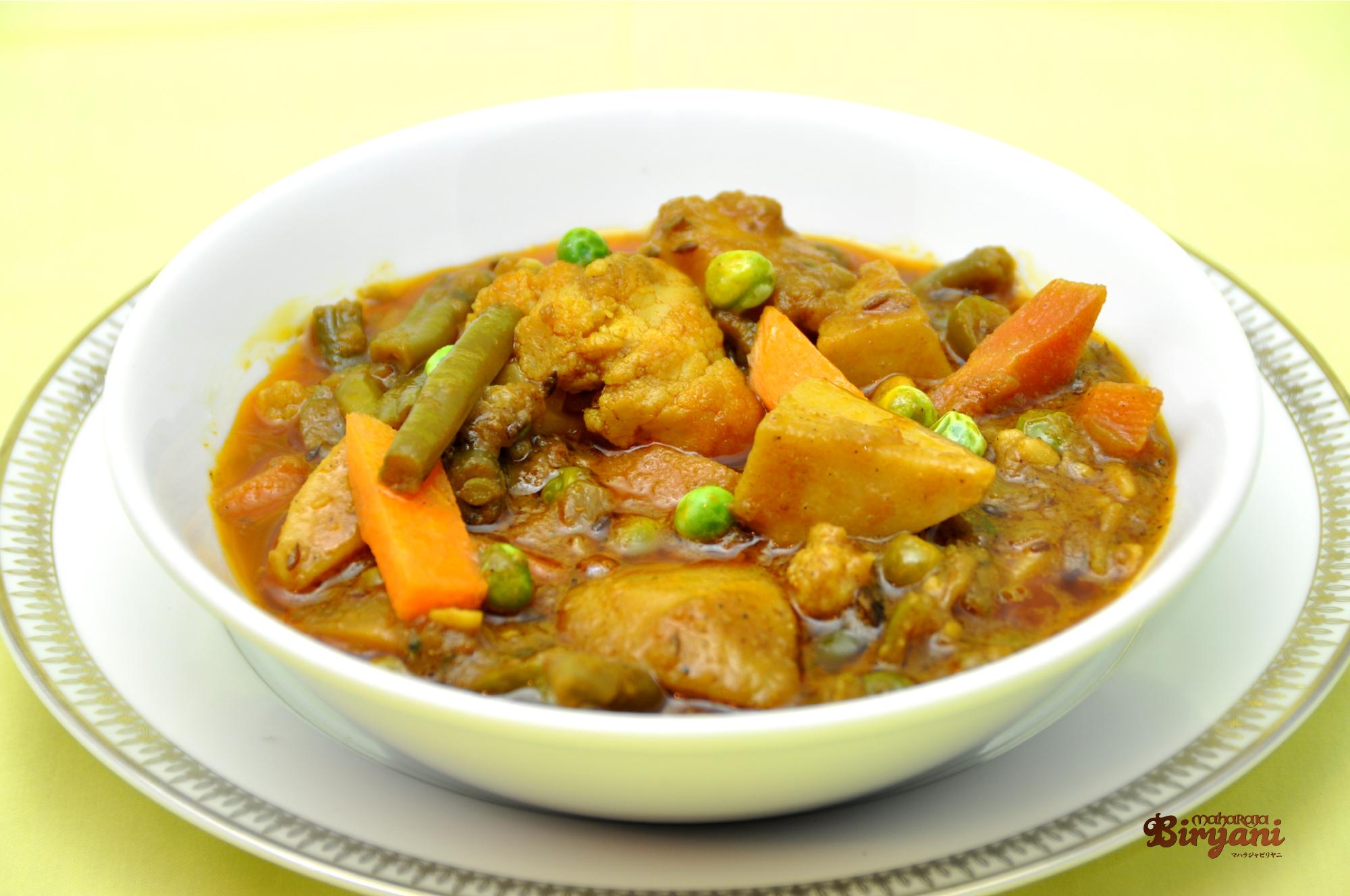 ミックスベジタブルカレー Mix Vegetable Curry